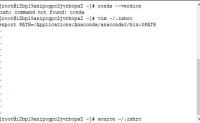 【Python】conda命令报错zsh: command not found: conda
